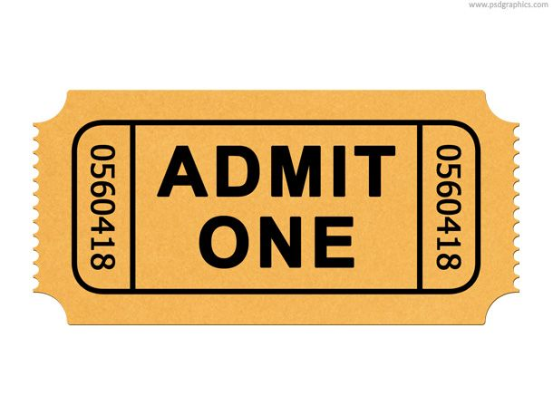 Generic Ticket Template