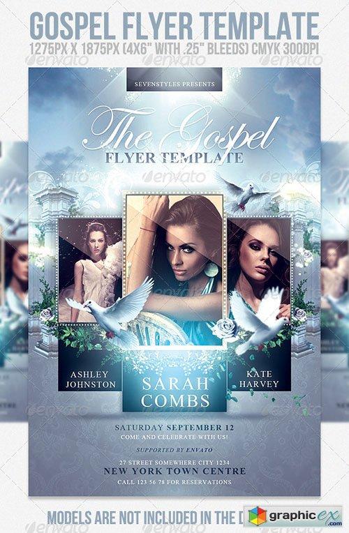 Gospel Flyer Template Free Download
