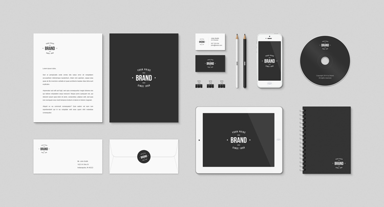 Graphic Design Mockup Templates