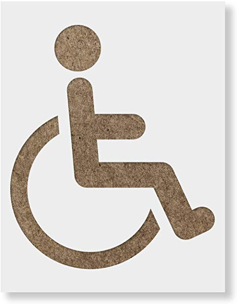 Handicap Painting Template