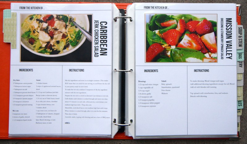 Homemade Cookbook Templates