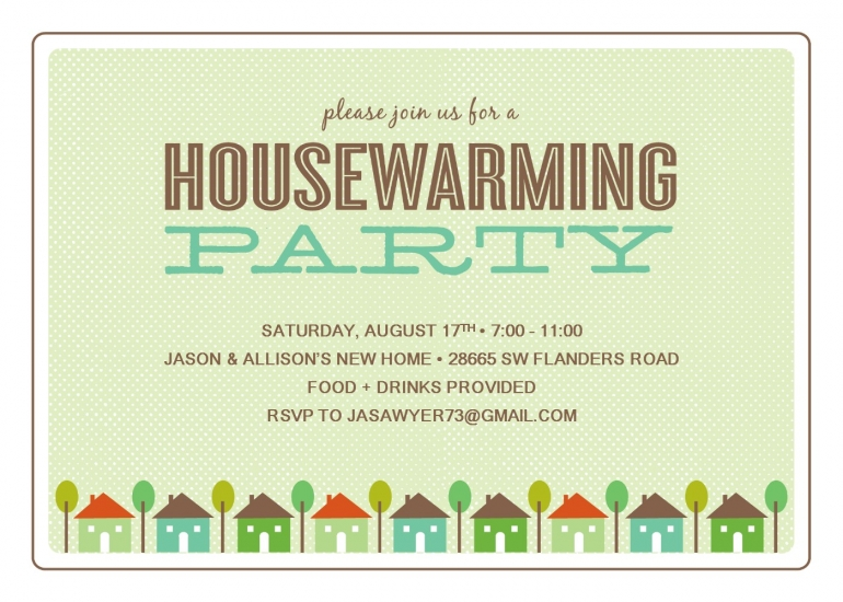 Housewarming Invitation Templates Online