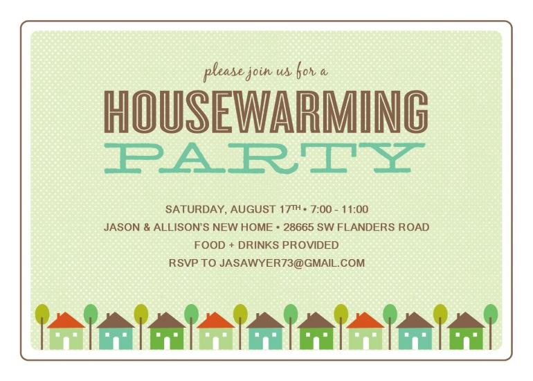 Housewarming Invitation Templates Online