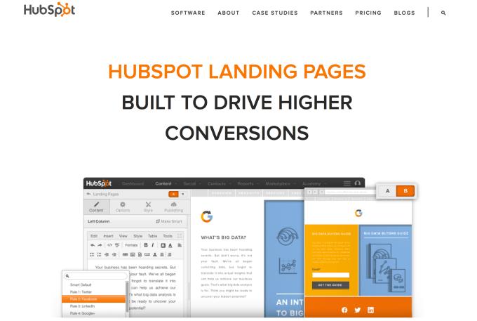 Hubspot Landing Page Templates