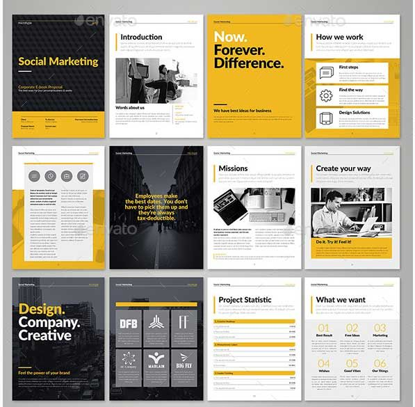 Indesign Ebook Templates