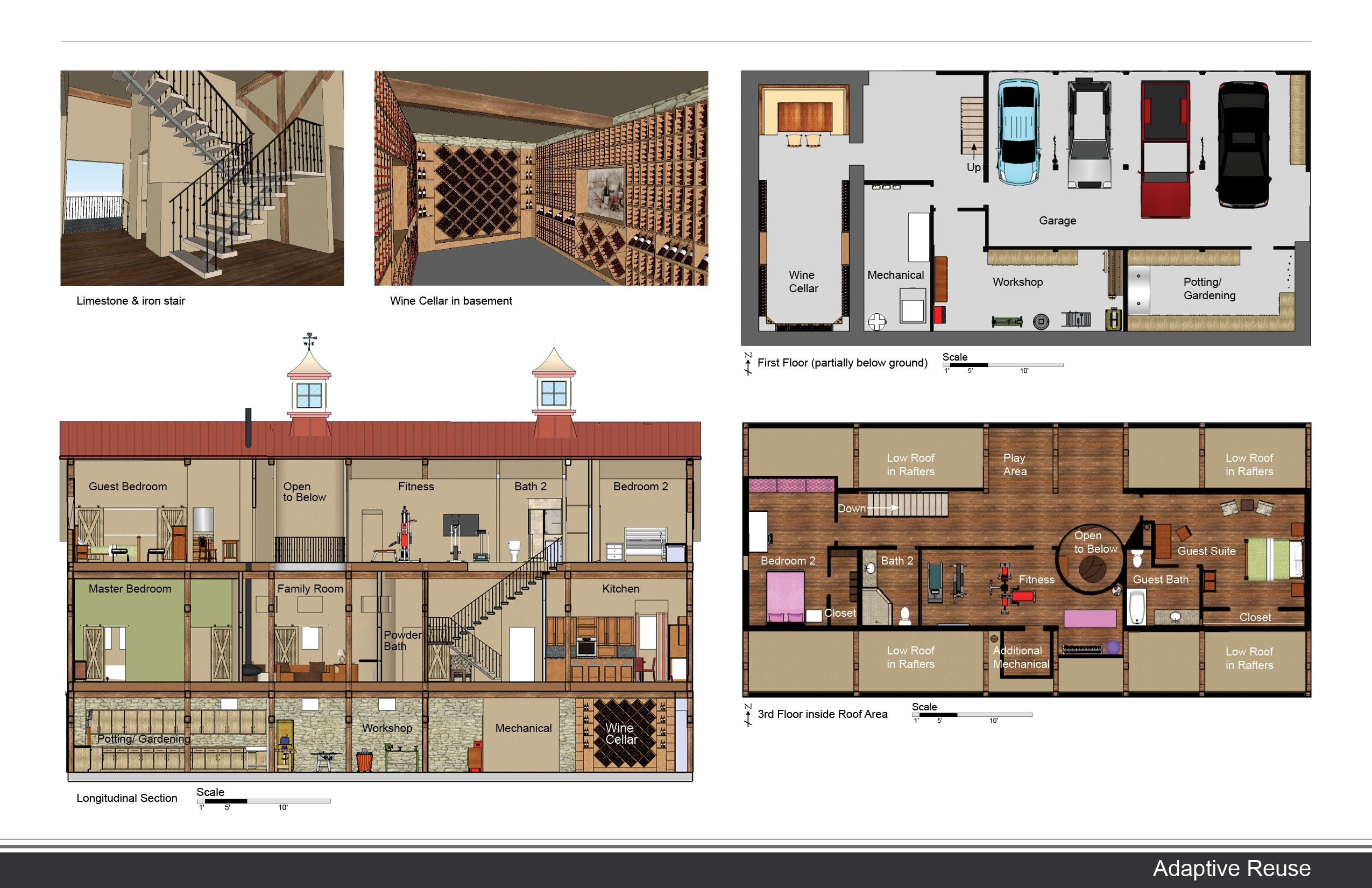 Interior Design Presentation Board Templates