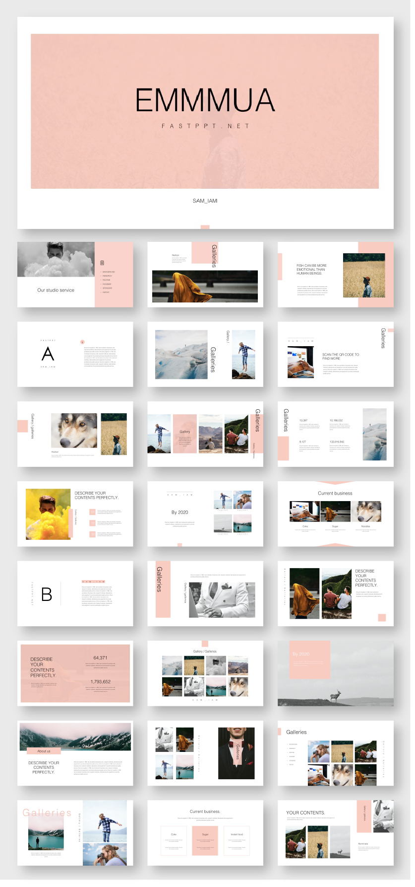 Interior Design Presentation Templates