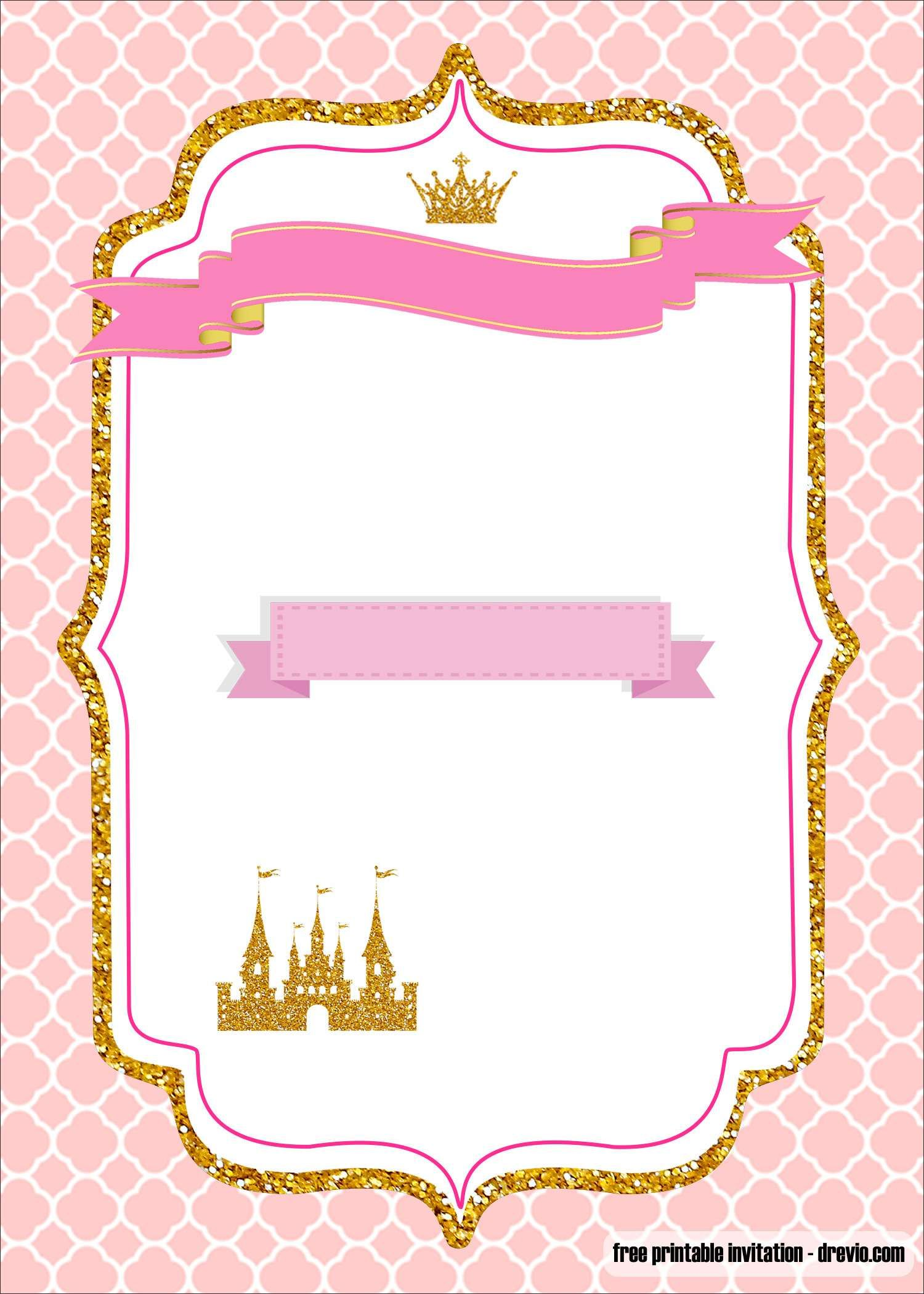 Invitation Templates Princess