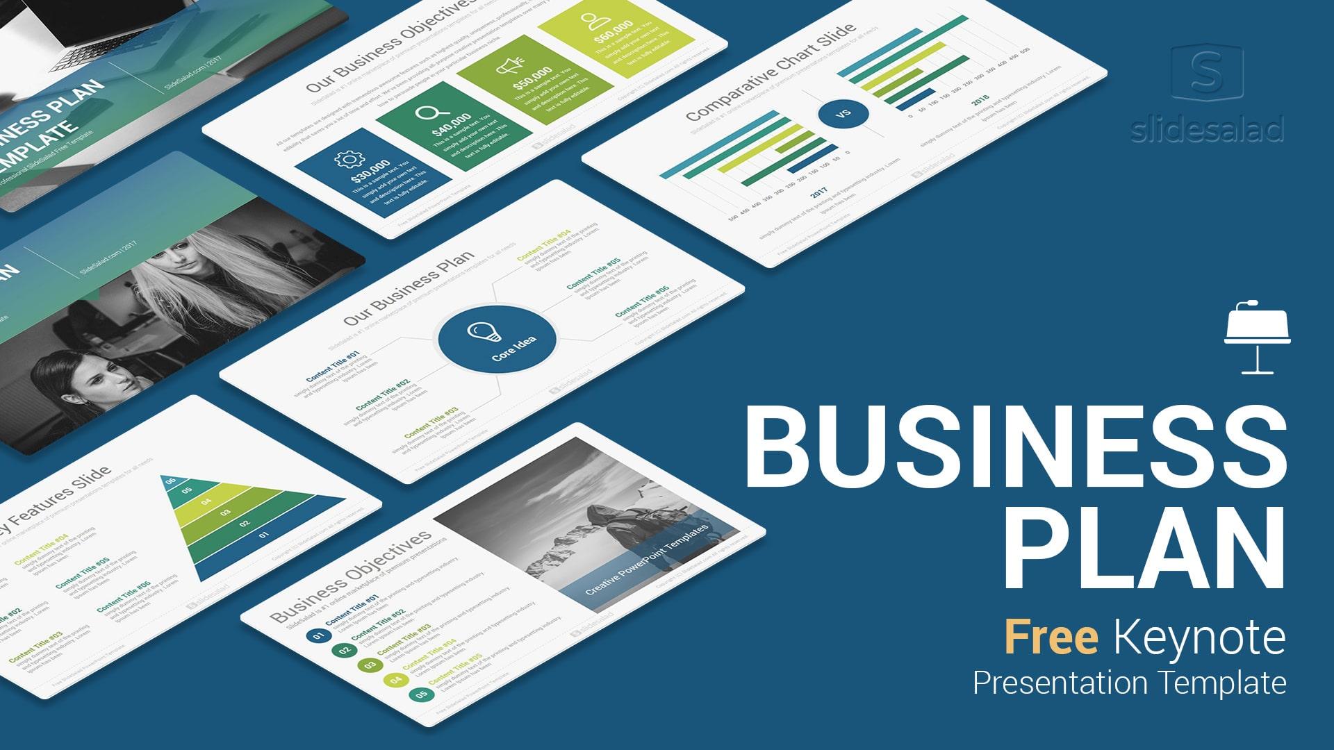 Keynote Business Plan Template Free