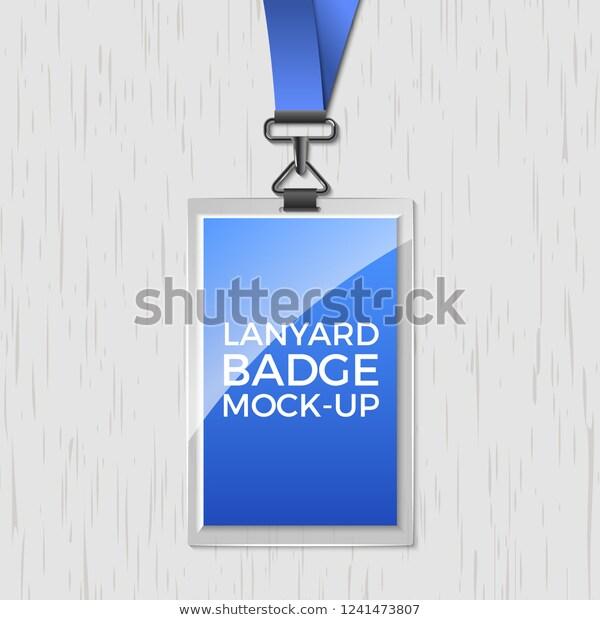 Lanyard Badge Template Free