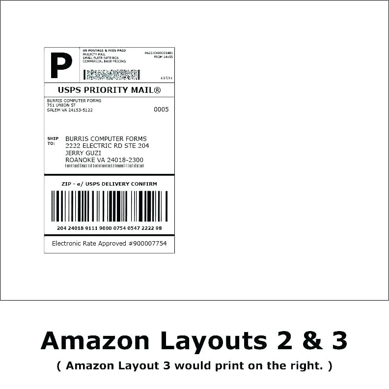 Large Mailing Label Template