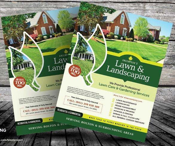 Lawn Care Flyers Templates