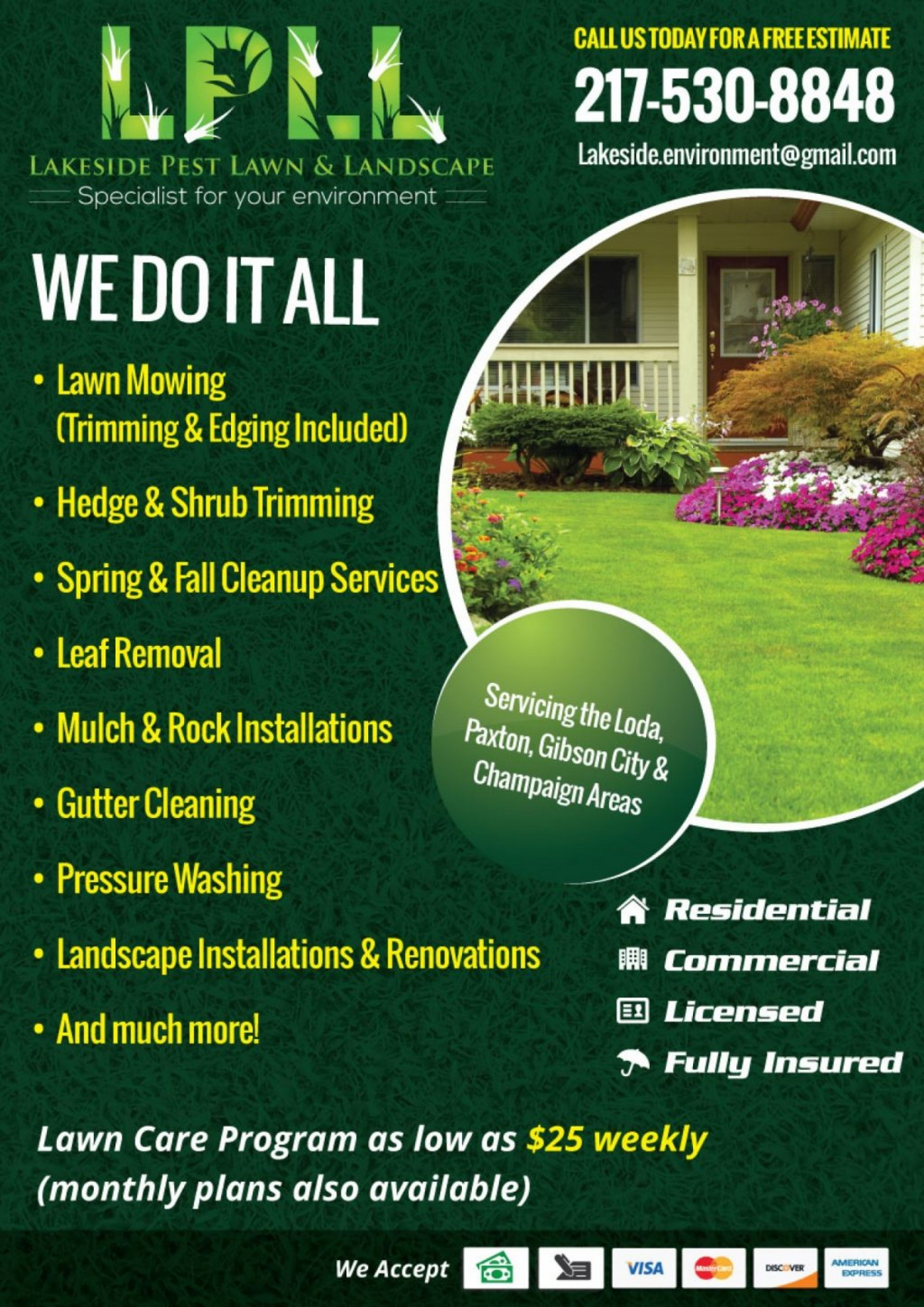 Lawn Service Free Lawn Care Flyer Templates Word