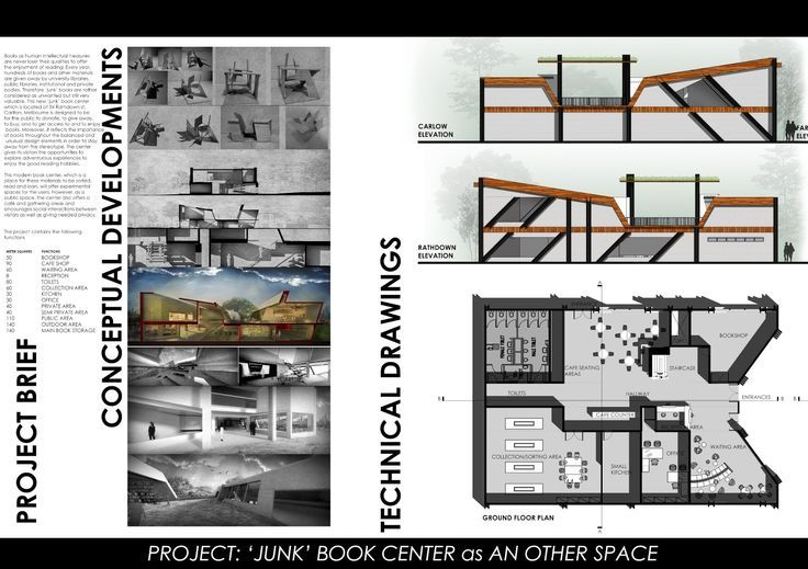 Layout Interior Design Presentation Templates