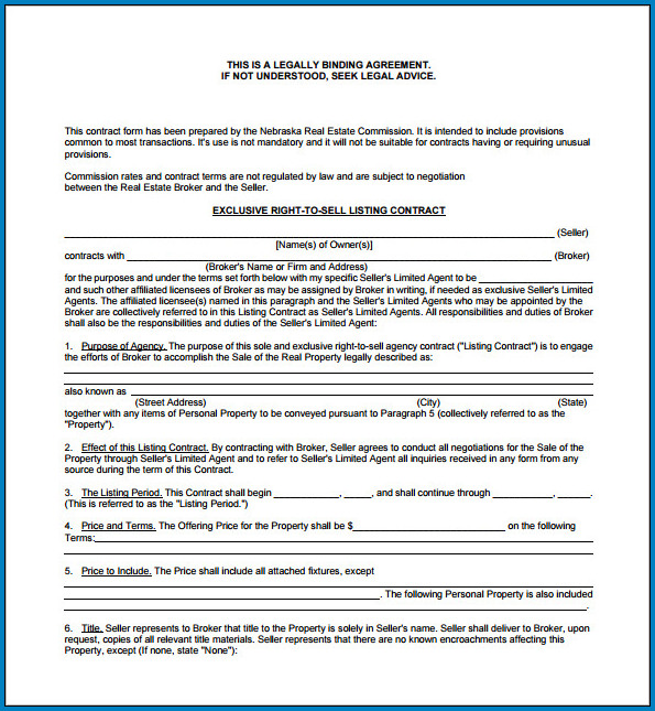 Legally Binding Contract Template