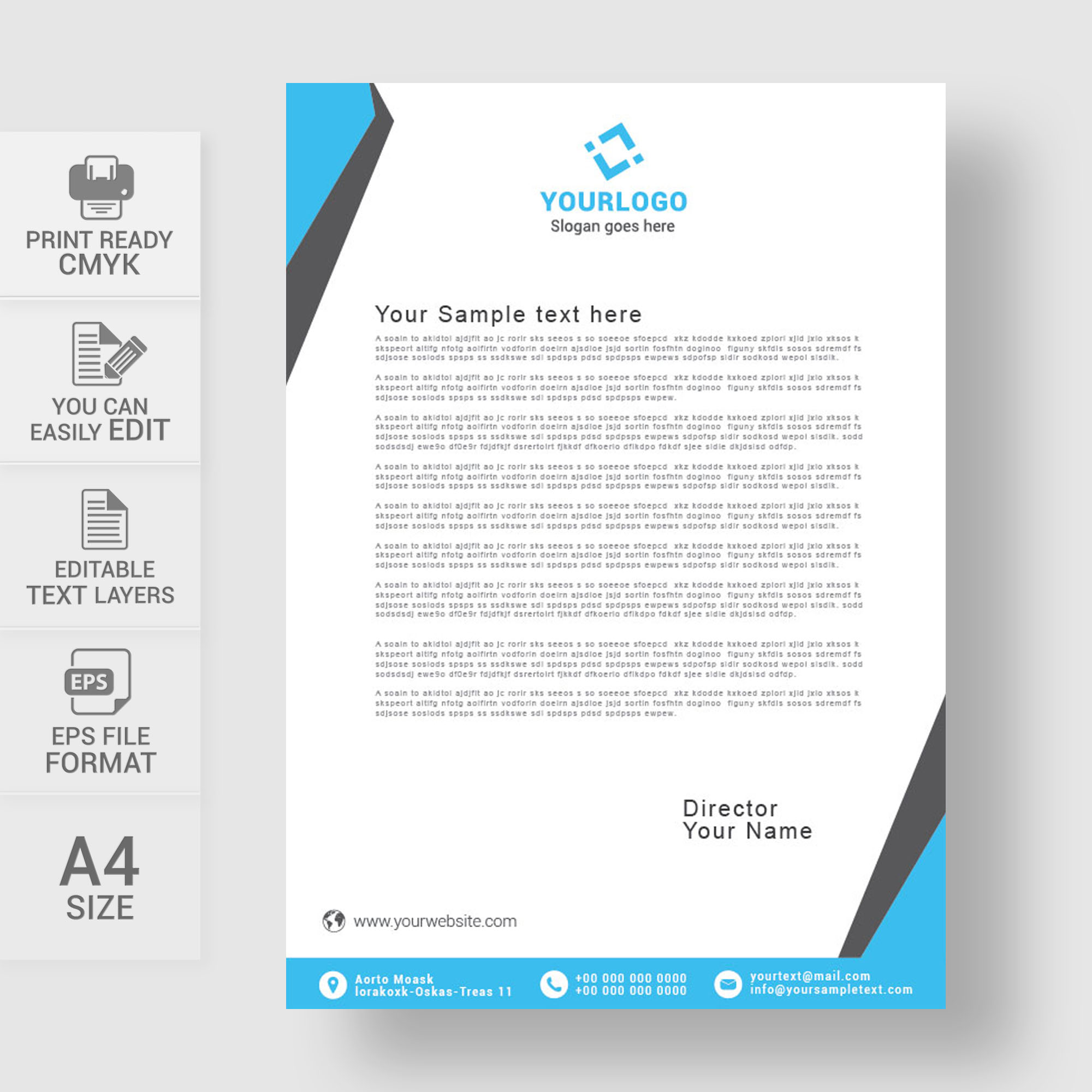 Business Letterhead Template