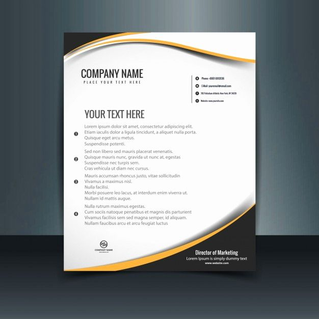 Letterhead Vector Templates Free Download