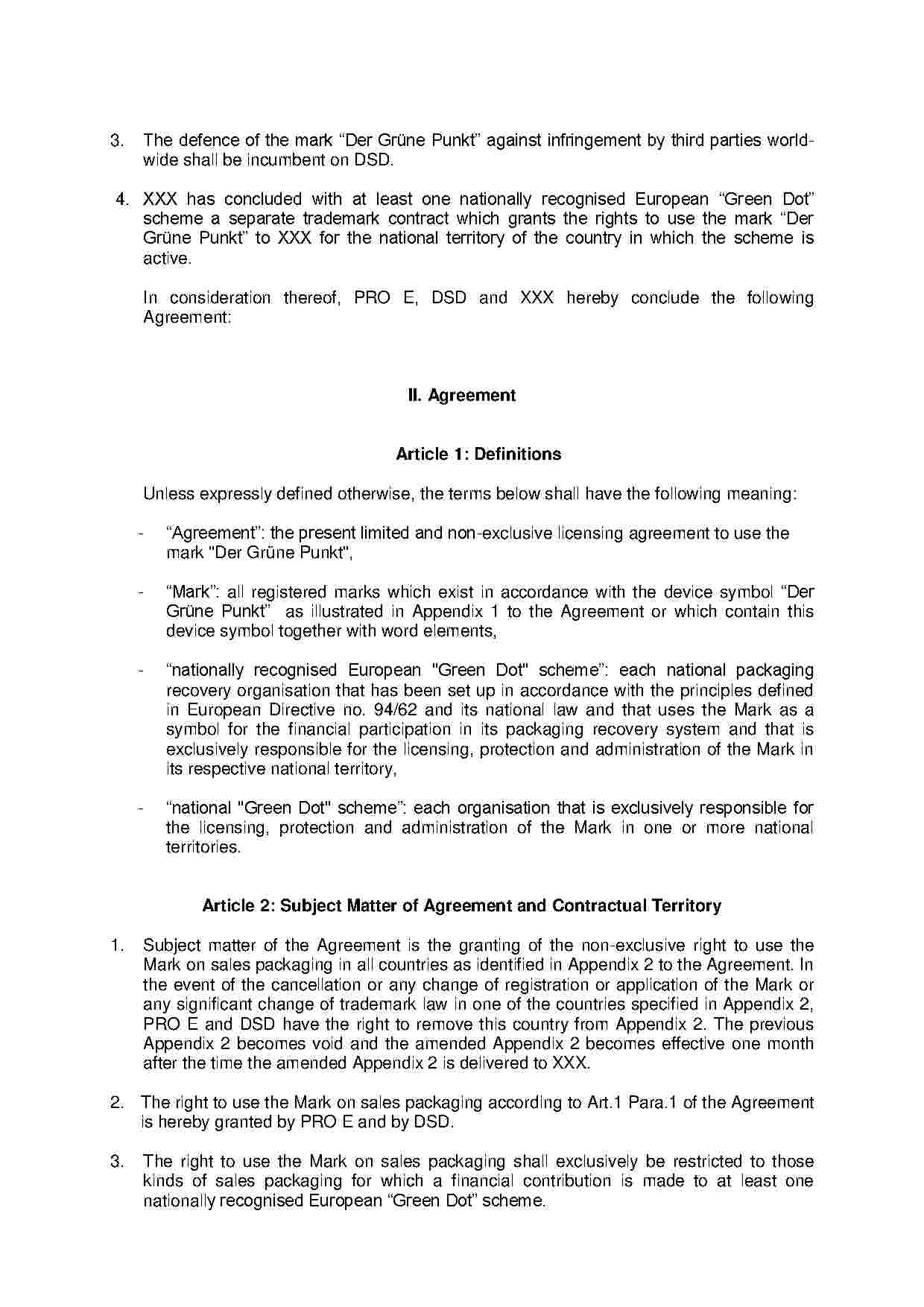 Licensing Agreement Template Free Download