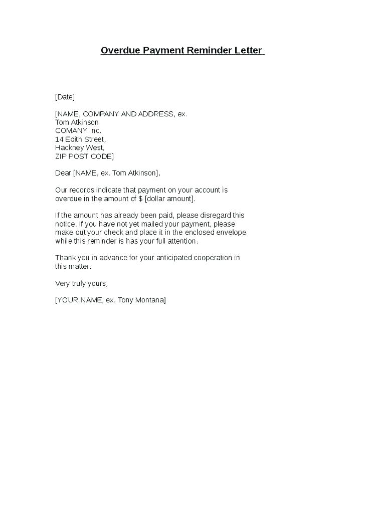 Lien Payoff Letter Template