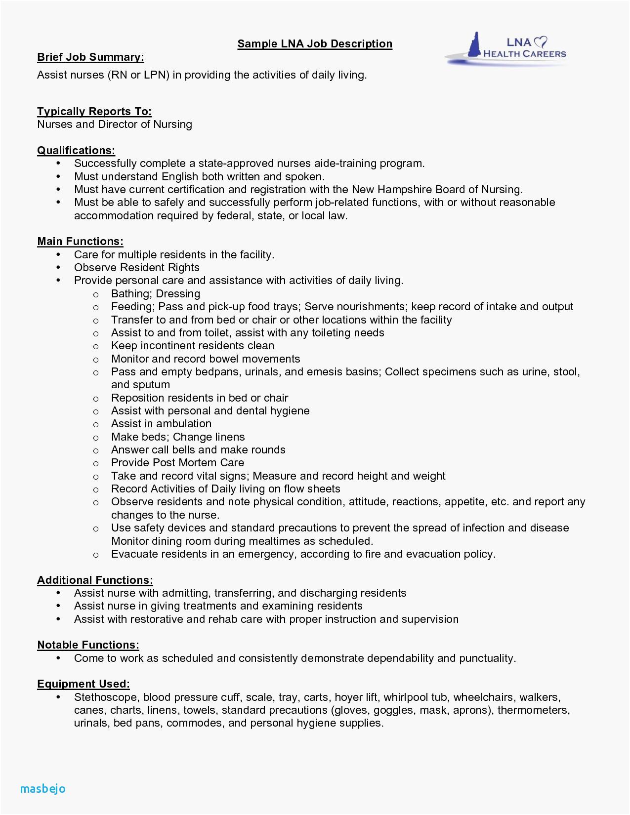 Nursing Resume Lpn Resume Template Free Elegant Lpn Skills For