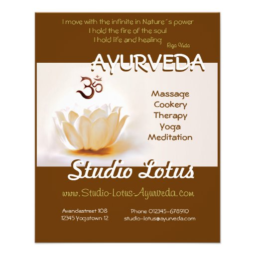 Massage Therapy Flyers Free Templates