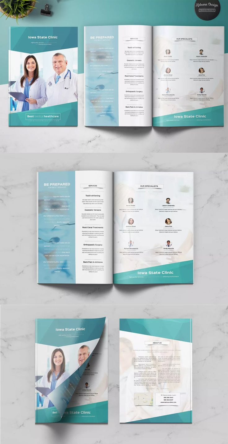 Medical Brochure Templates Psd Free Download