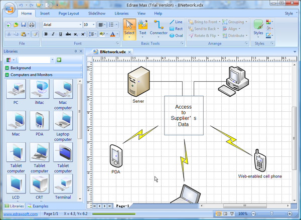 Microsoft Visio Network Diagram Templates