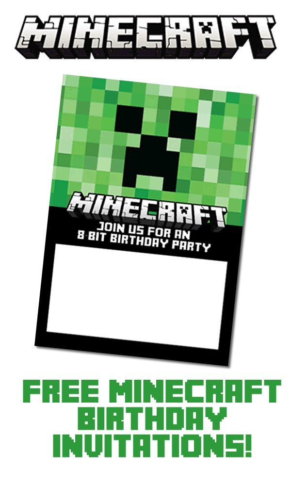 Minecraft Birthday Card Lovely Free Nerf Birthday Invitation Template Unique 53 Beautiful Minecraft