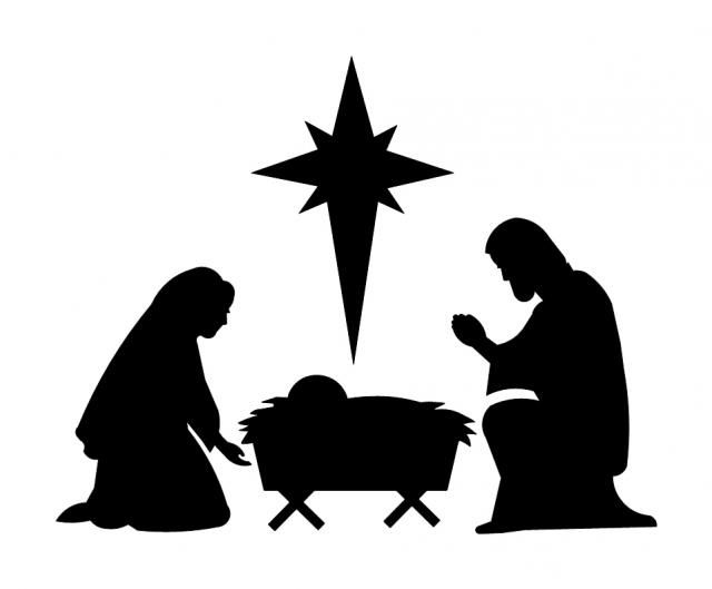 Nativity Scene Template Free