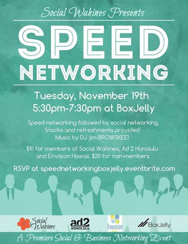 Networking Event Flyer Template