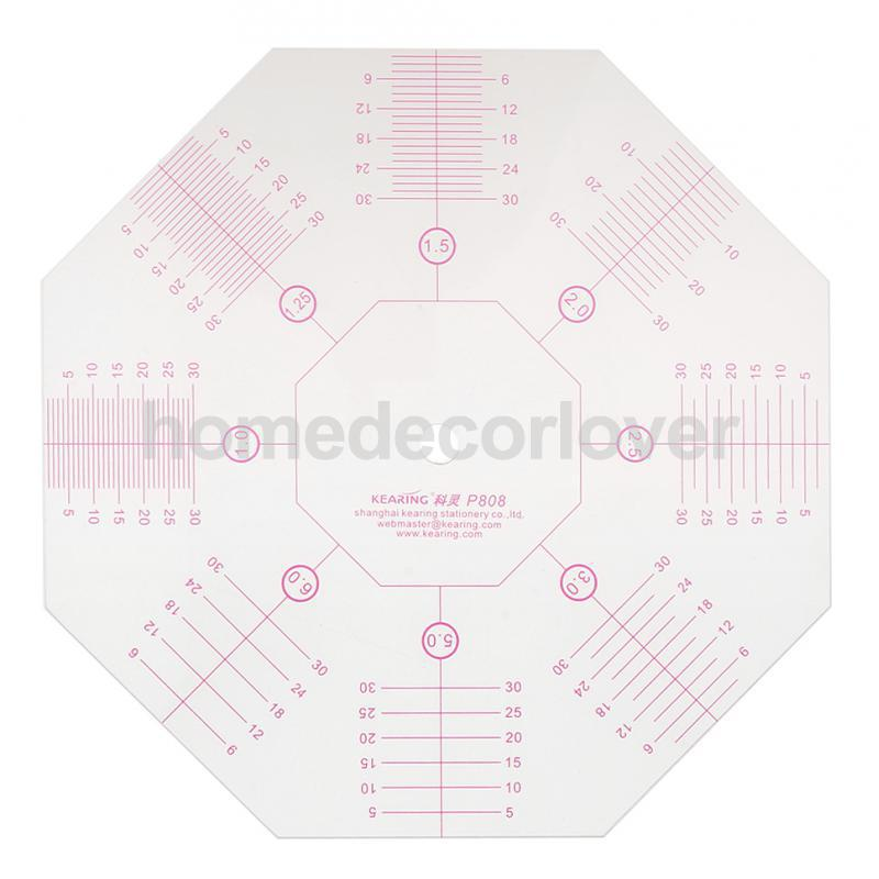 Octagon Quilting Template