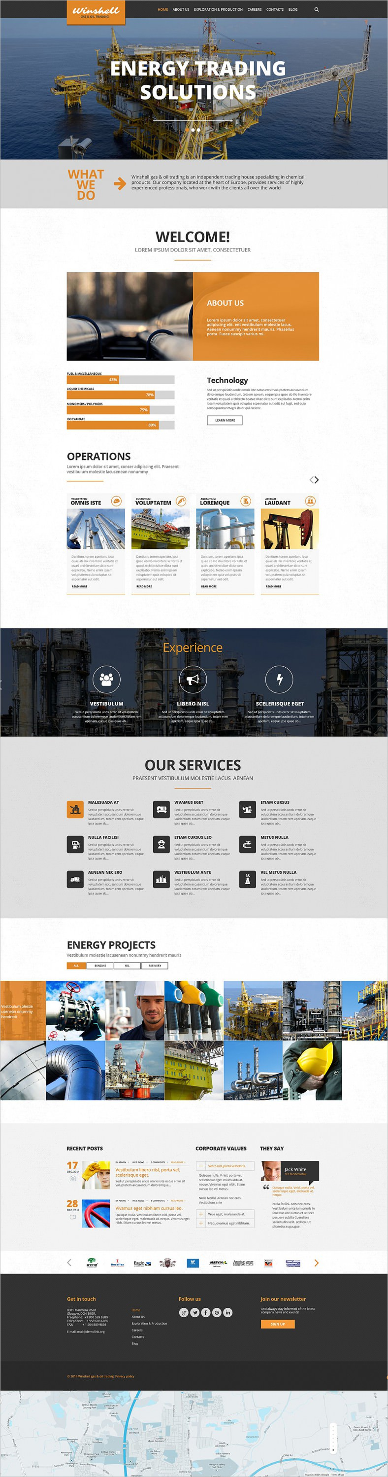 Parallax Scrolling Website Templates Free Download