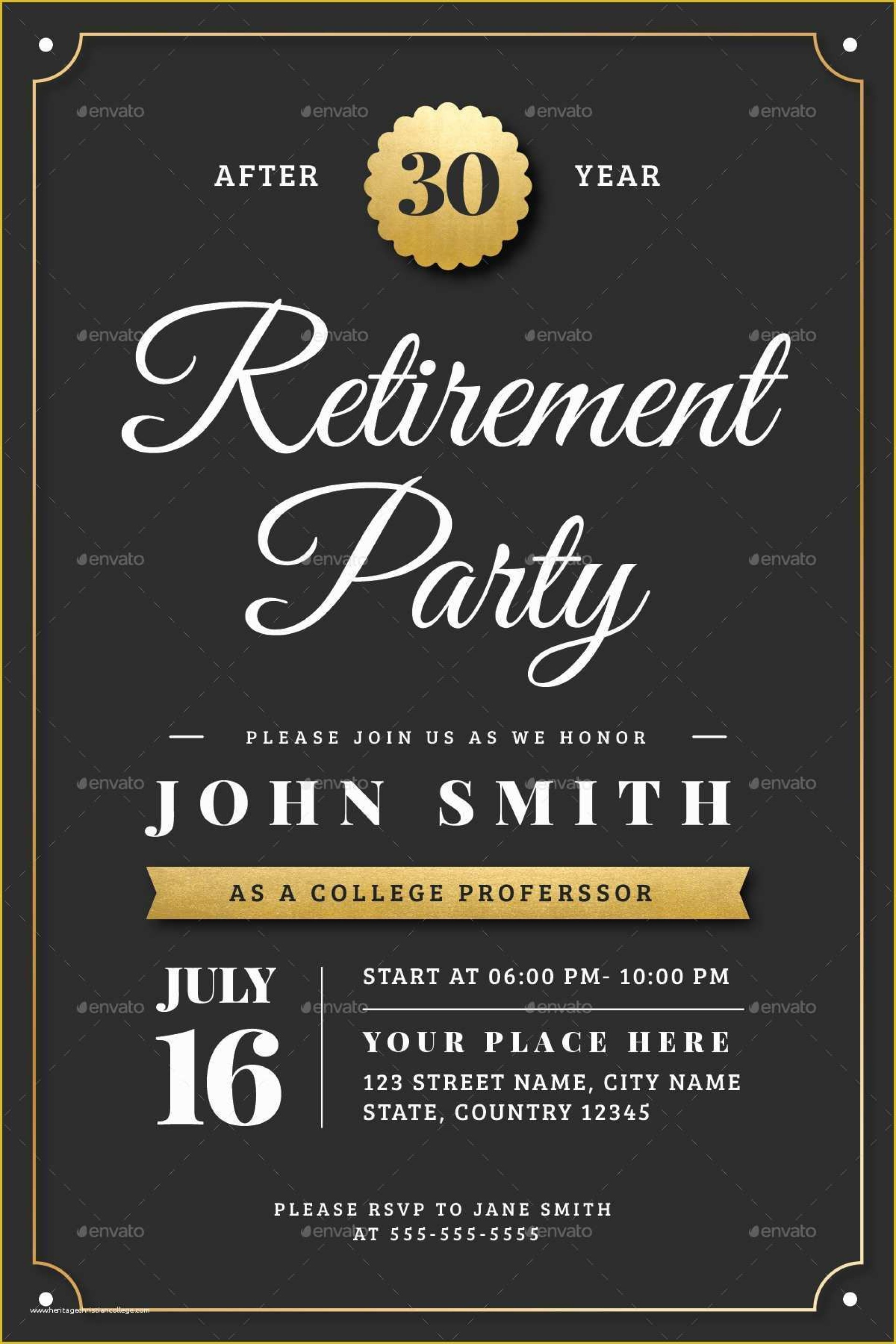 Party Announcement Template Free