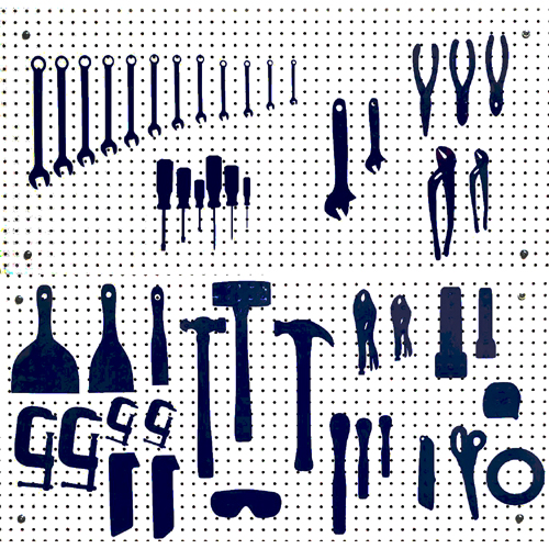 Pegboard Pattern Templates