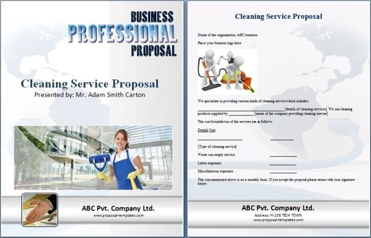 Post Construction Cleaning Bid Template
