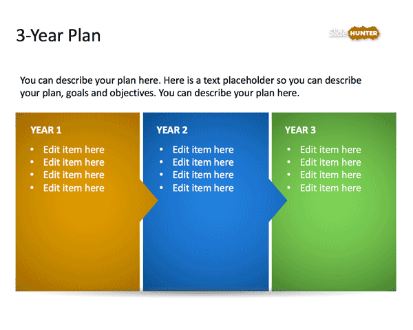 Powerpoint Free Strategic Plan Template