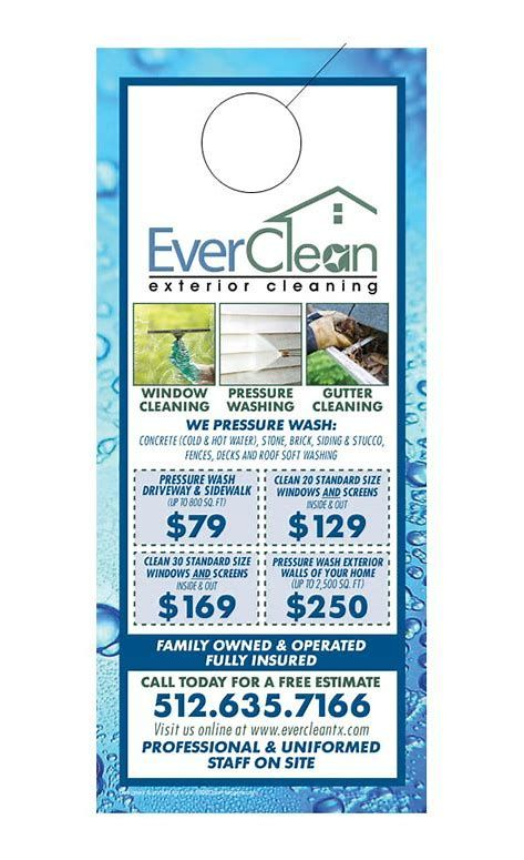 Pressure Washing Flyer Template Free