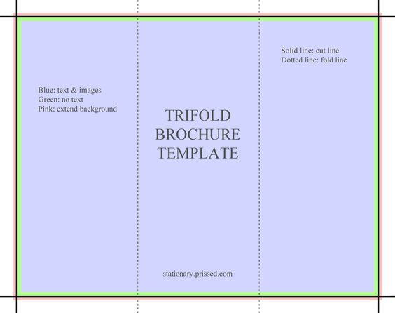 Printable Brochure Templates Free