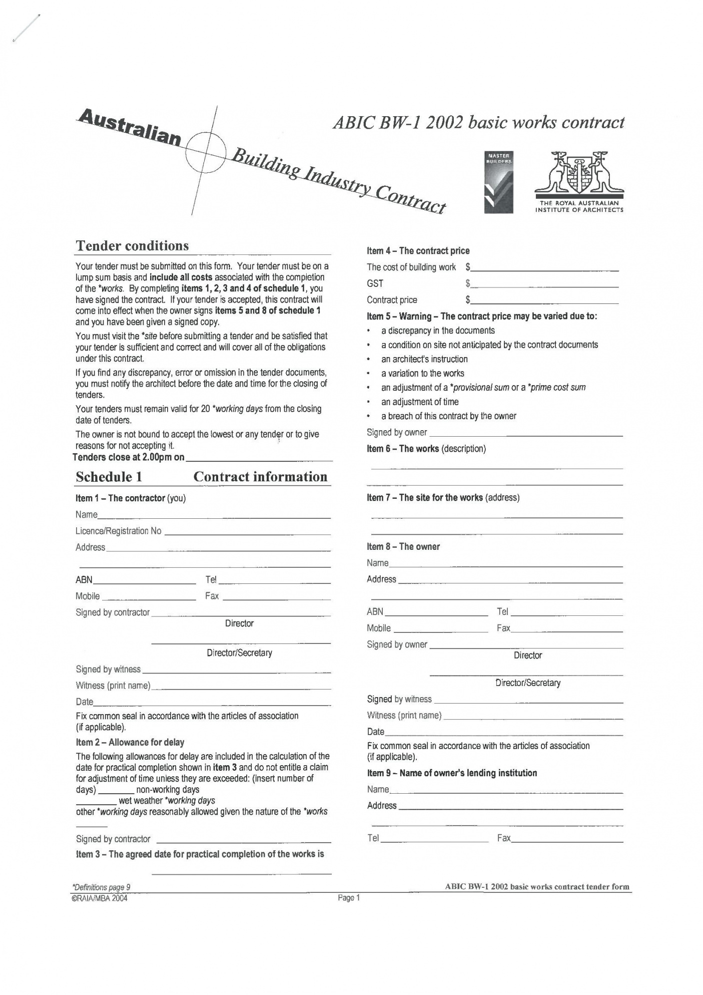 Our Free Printable Building Contract Template #868 Ocweb House Demolition Contract Template