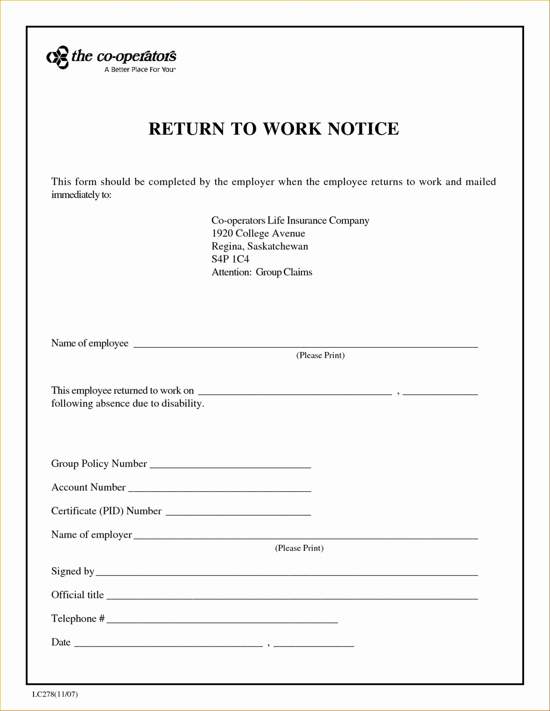 Printable Doctor Note Template For School