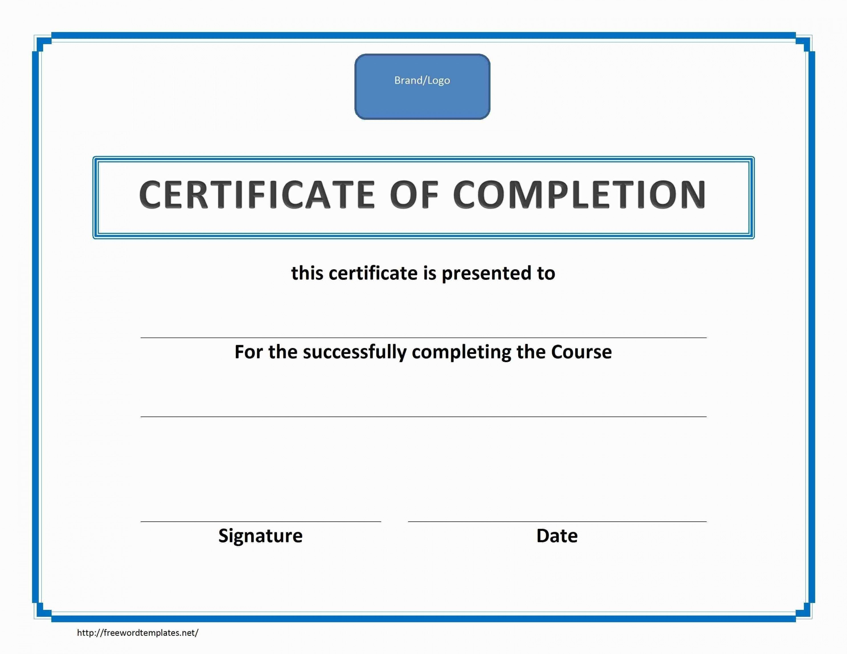 Printable Forklift Certificate Template