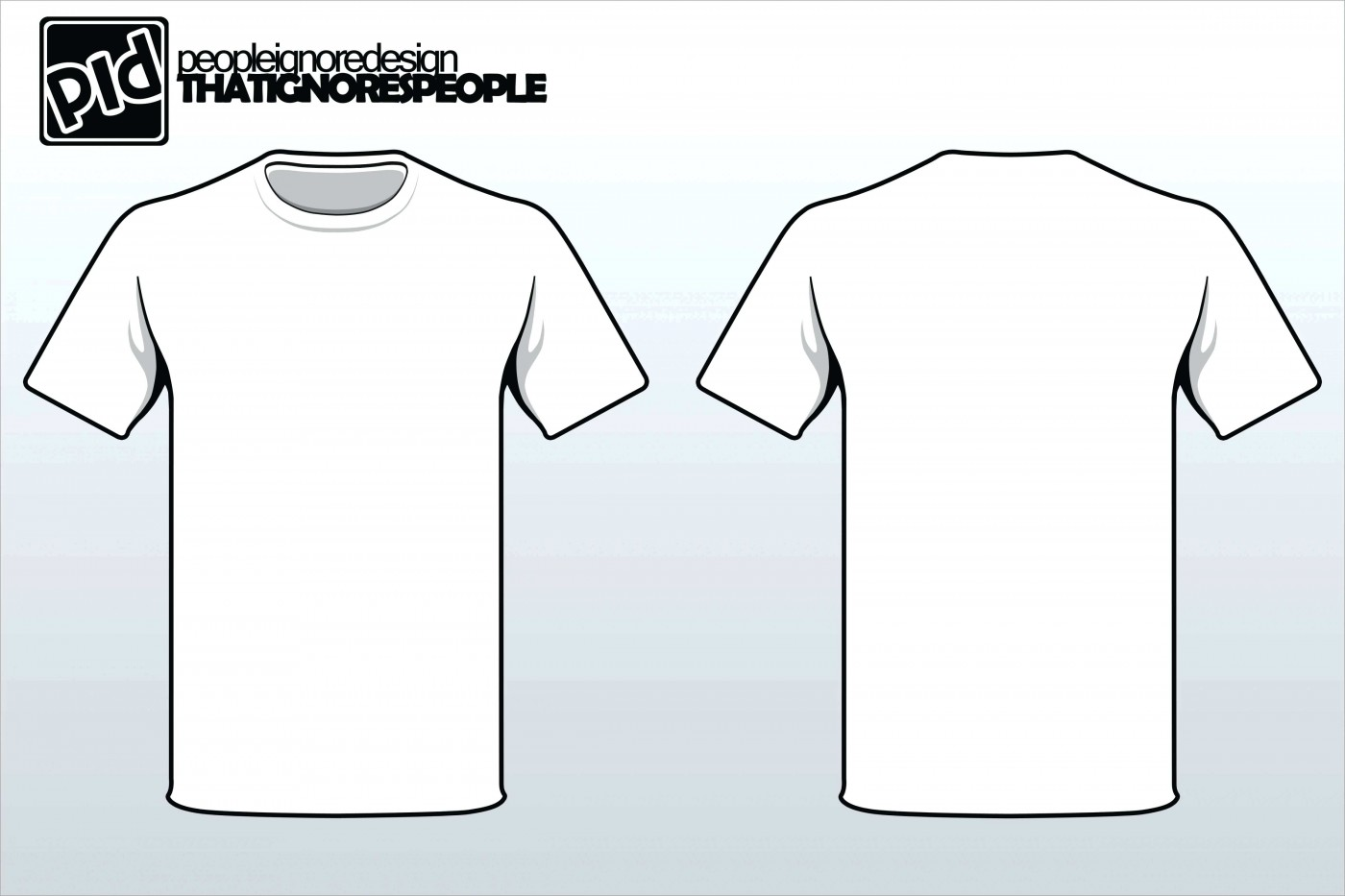 Printing T Shirt Template Printable