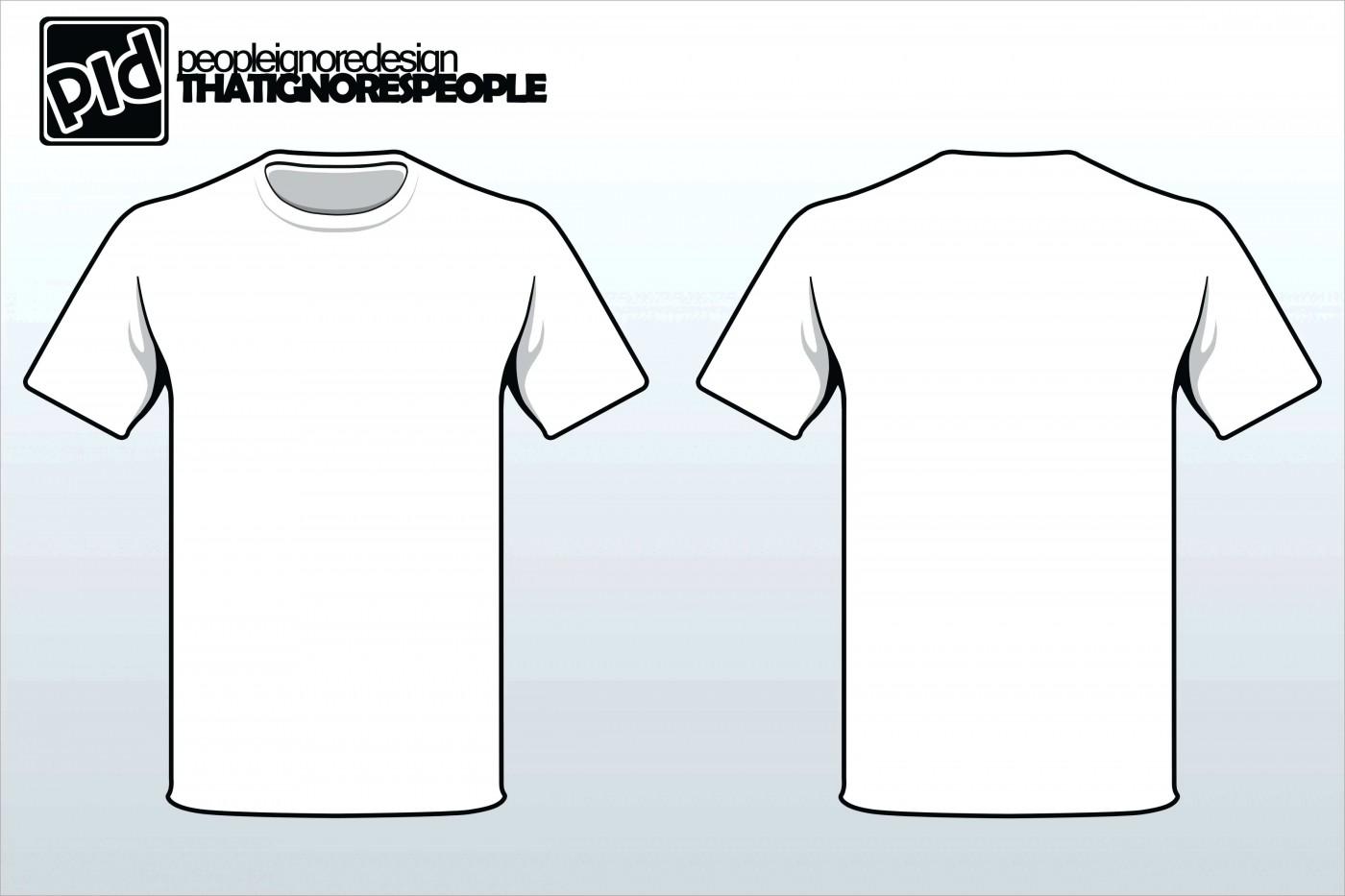 Printing T Shirt Template Printable