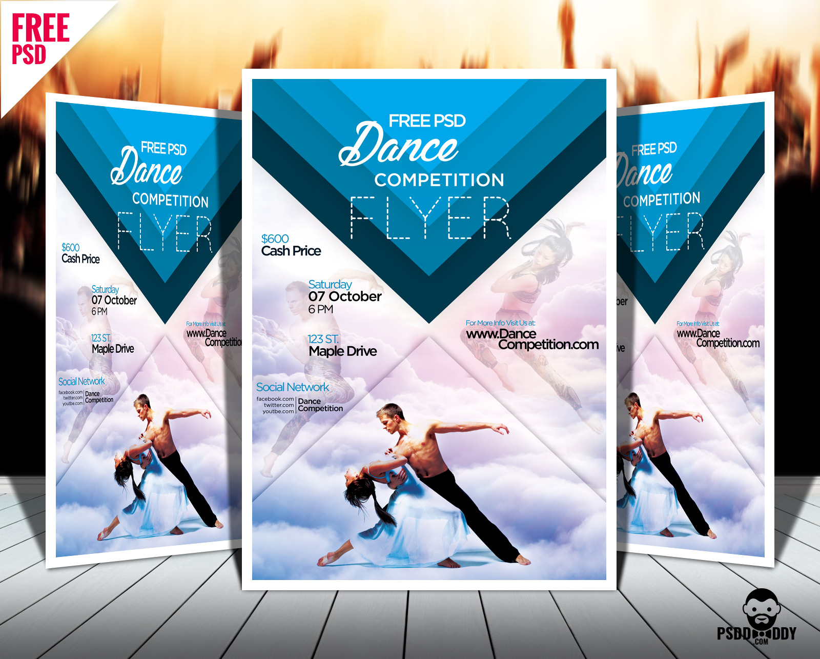 Promotional Flyers Template Free Download