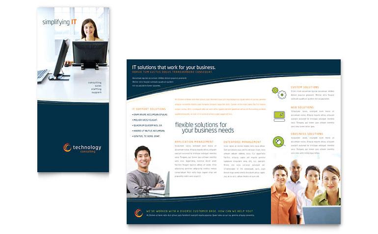 Publisher Tri Fold Brochure Templates Free Download