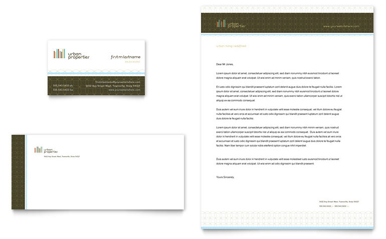 Real Estate Letterhead Templates Free Download Word