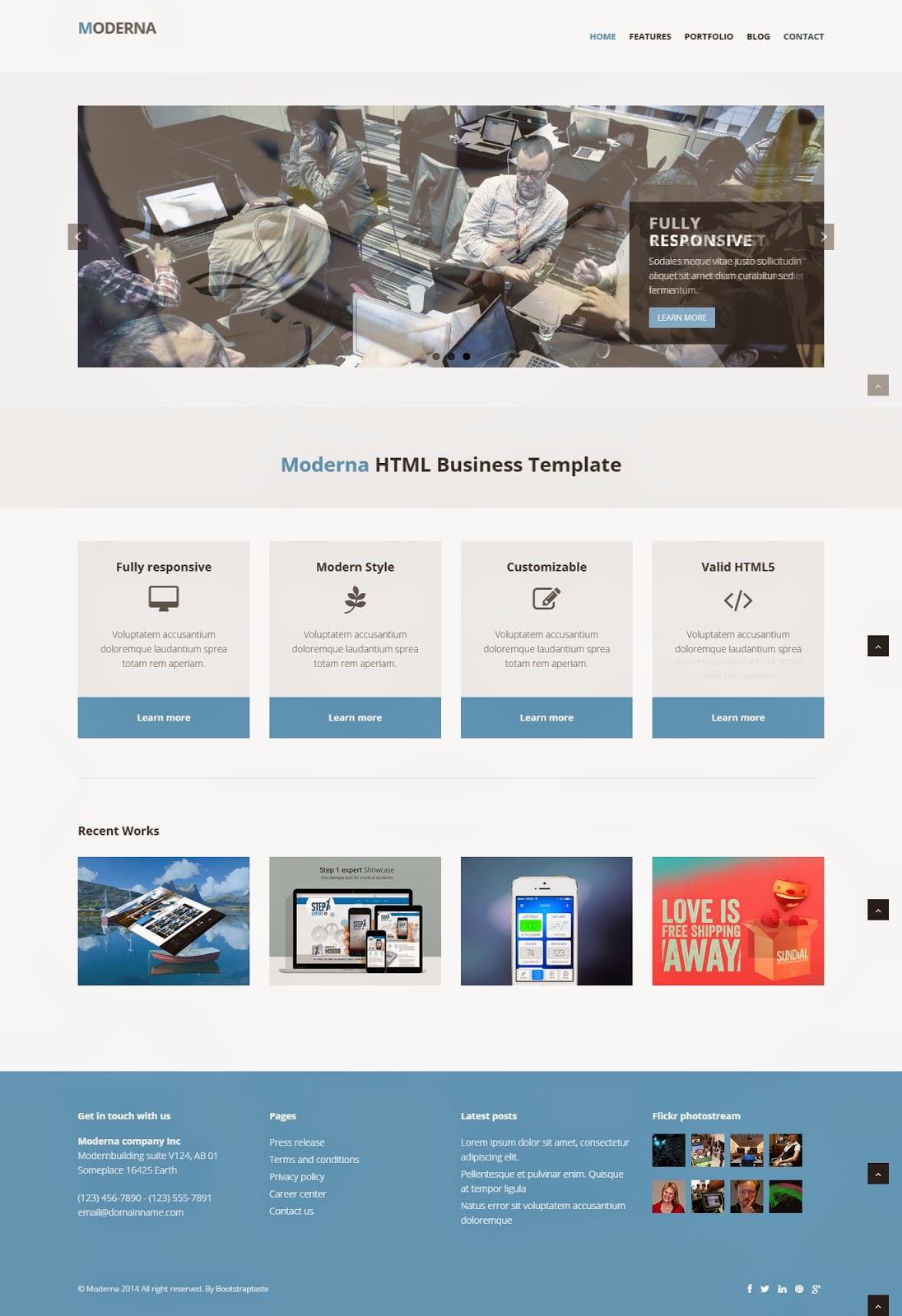 Responsive Ecommerce Templates Free Download