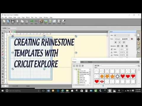 Rhinestone Template Maker Software