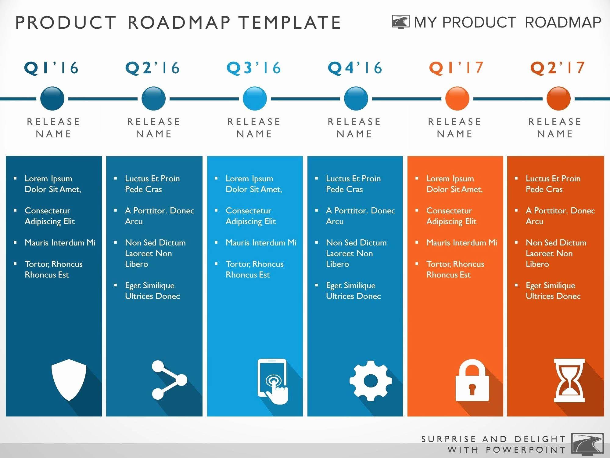 Roadmap Template Word
