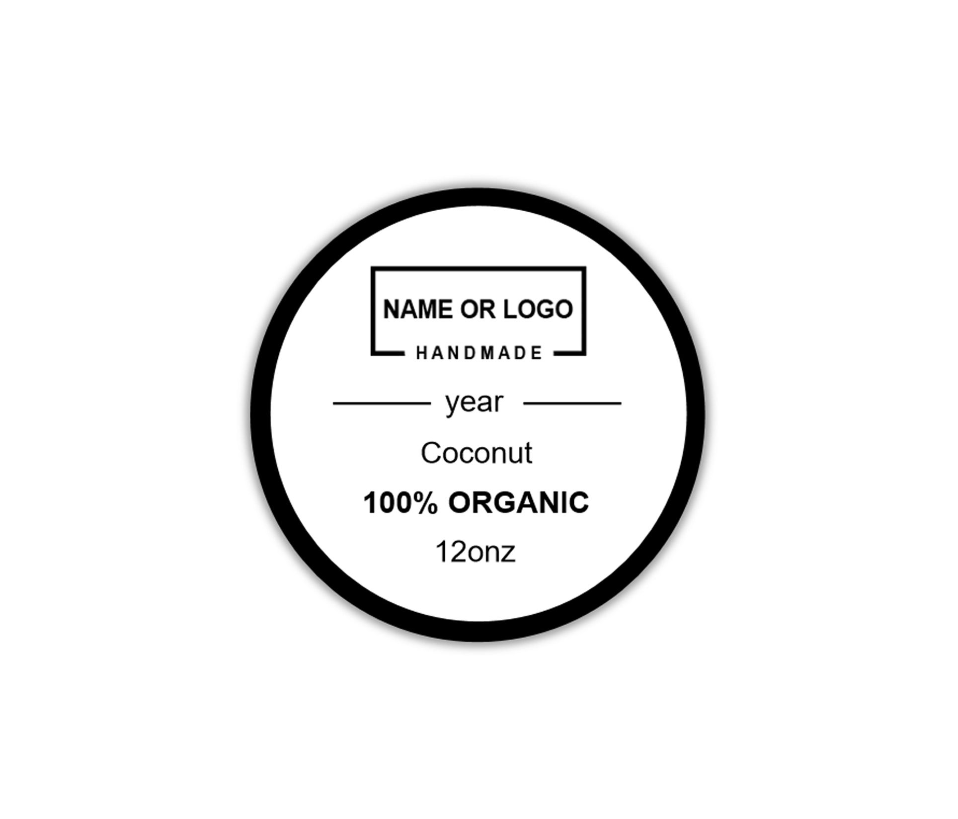 Round Sticker Label Template